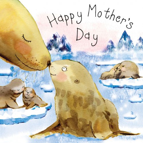 FIZ33 - Card For Mother's Day Seals